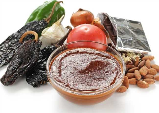 Mole ingredients