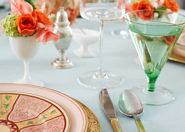 table setting by David A. Land & How to Set a Dinner Table to Impress Your Guests | Allrecipes