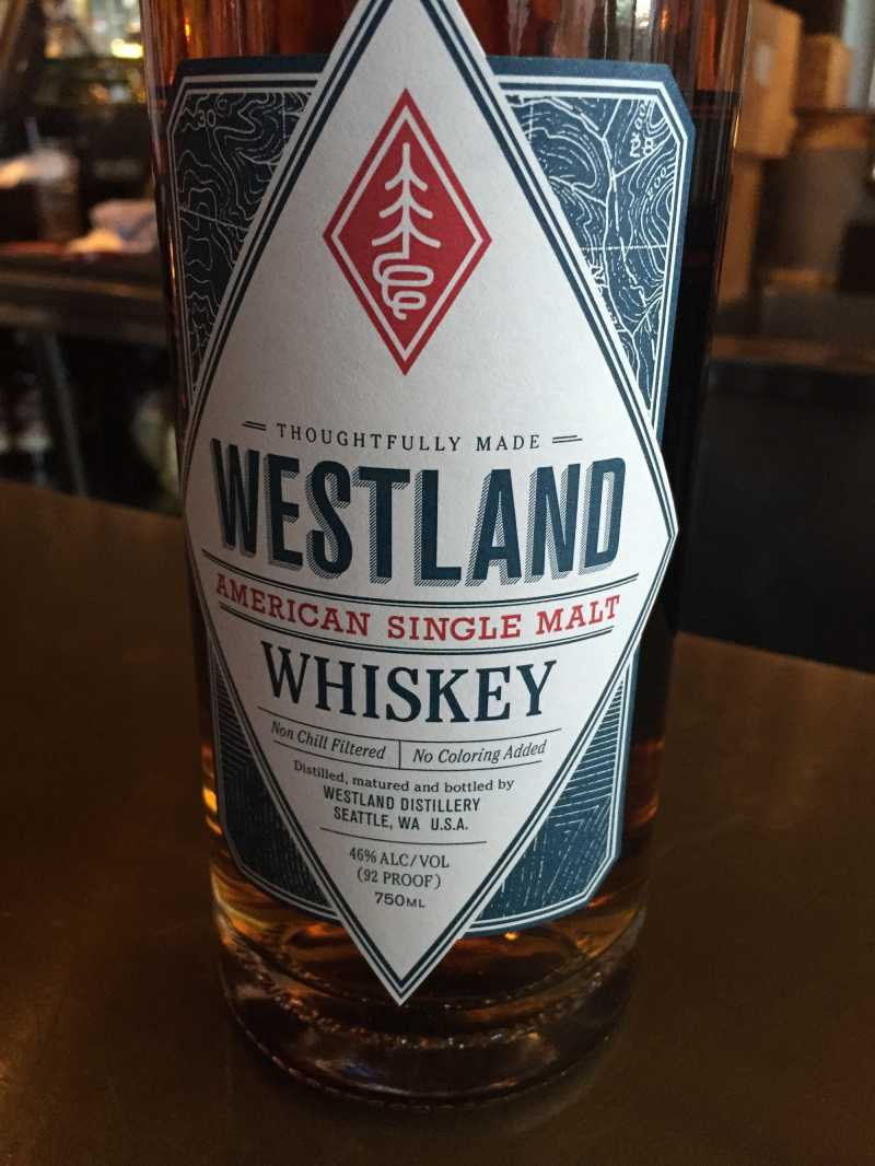 Westland Distillery in Seattle makes American single malt whiskey with barley grown nearby.