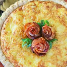 Bacon Rose Quiche Photo by Culinary Envy