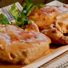 Instant Pot Pork Chops and Gravy