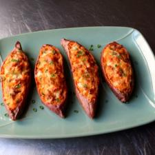 Chef John's Twice Baked Sweet Potatoes
