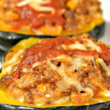 Instant Pot Acorn Squash Stuffed with Italian Sausage65