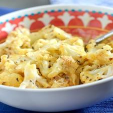 Easy Low Cal Cauliflower Mac and Cheese