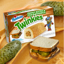 Peanut Butter and Pickle Twinkies