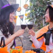 Halloween Party with Wine