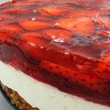 Judy's Strawberry Pretzel Salad