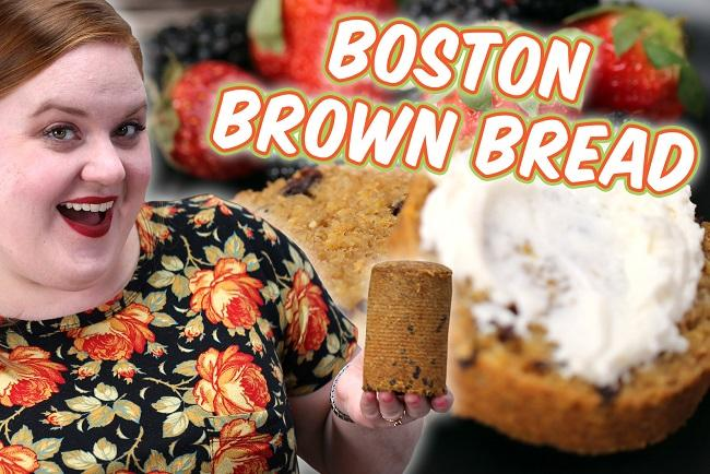 How to Make Smart Cookie's Boston Brown Bread