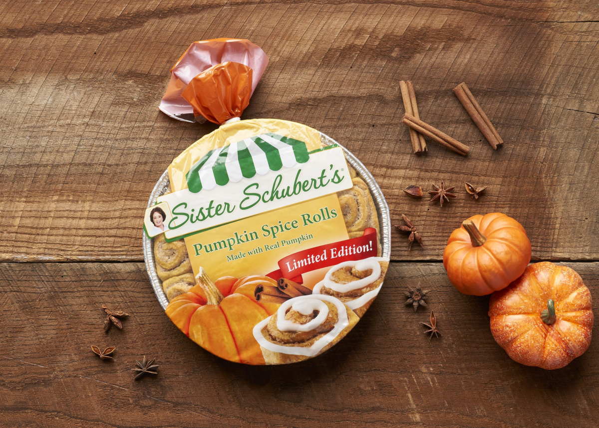 Sister Schubert's Pumpkin Spice Rolls Are Now Available for a Limited Time — So Stock Up!
