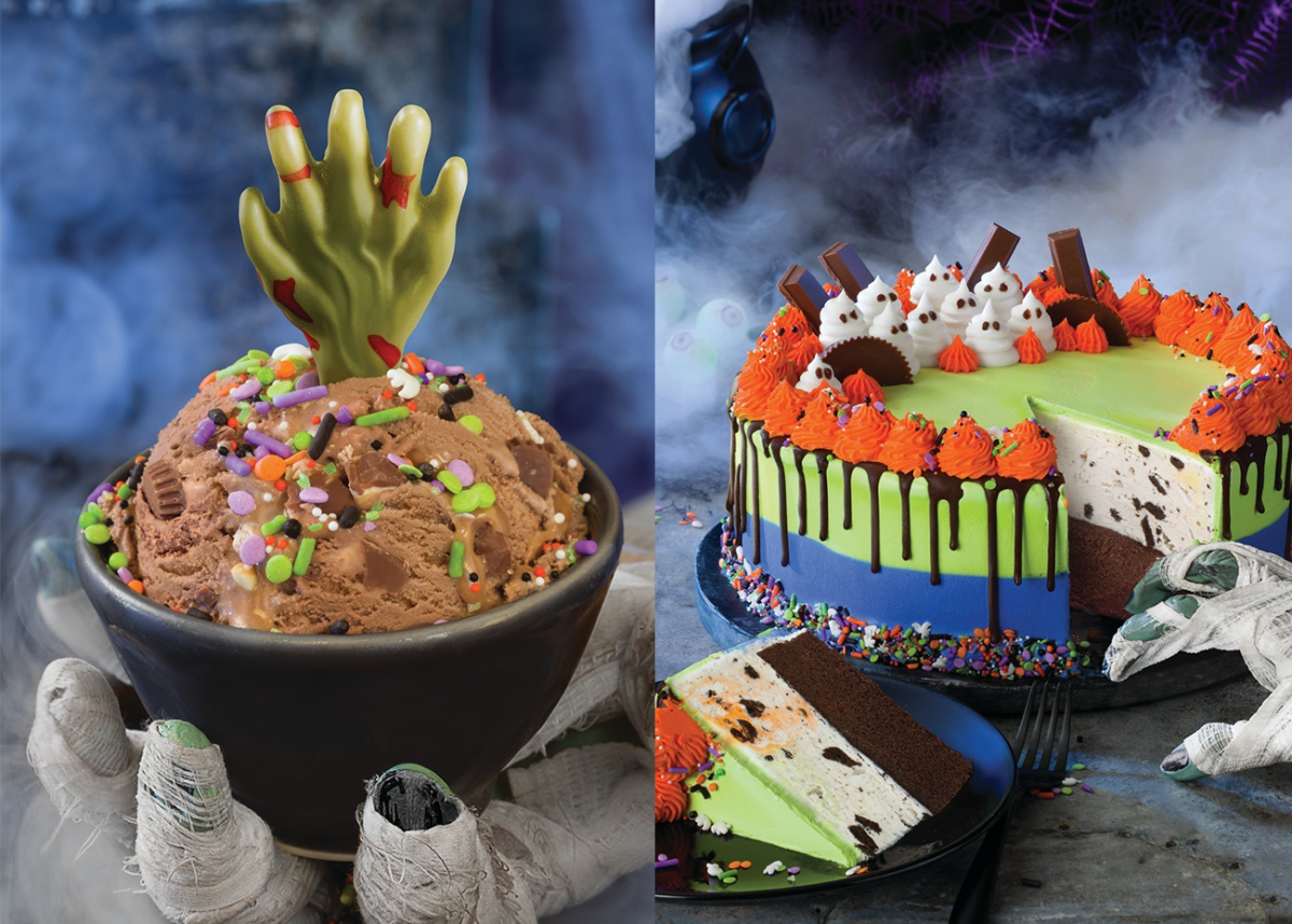 Baskin-Robbins' Newest Halloween Treat Features a White Chocolate Zombie Hand
