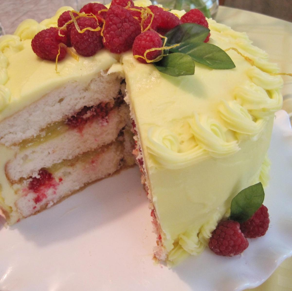 12 little ways to take your cake from good to great dish allrecipes nvjuhfo Images